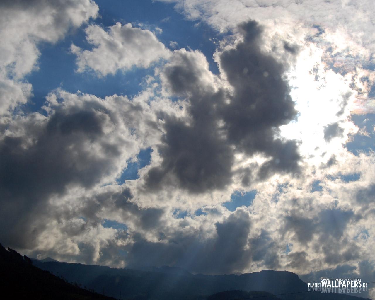 Wolken Desktop Bilder