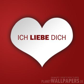 Ich Liebe Dich 49 Wallpaper Gratis Desktop Hintergrund
